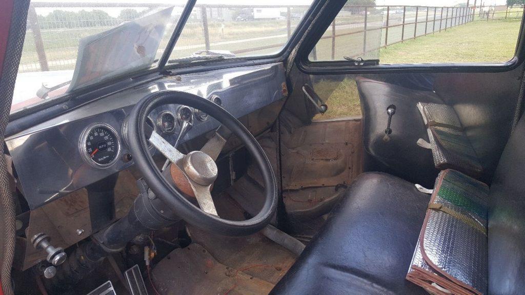 Converted car hauler 1947 Studebaker flatbed vintage