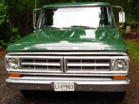 Family owned since new 1971 Ford F 100 Custom vintage for sale