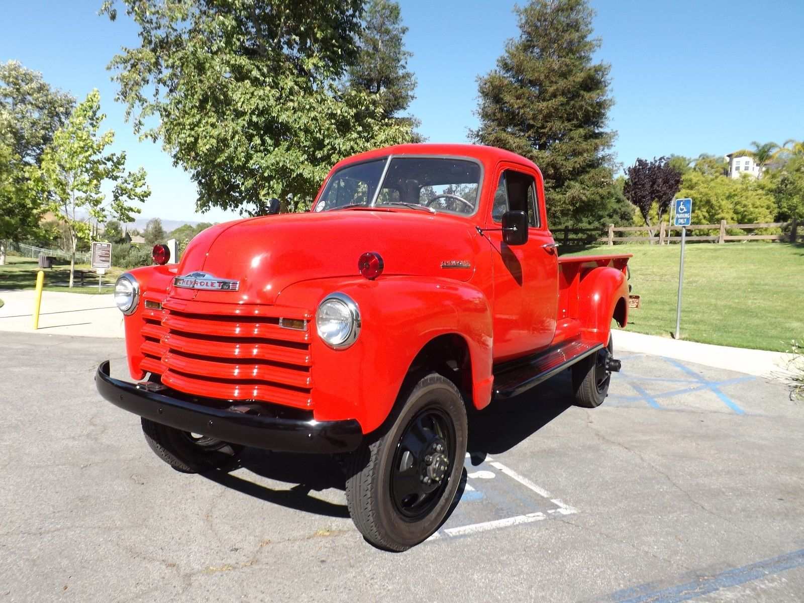 Frame Off 1952 Chevrolet Pickup Vintage Truck For Sale