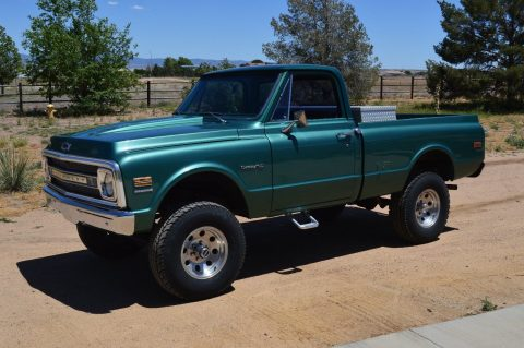 Fully restored 1970 Chevrolet C 10 Custom vintage for sale