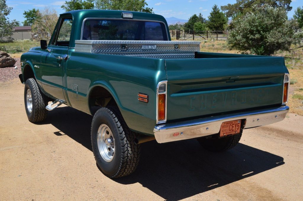 Fully restored 1970 Chevrolet C 10 Custom vintage