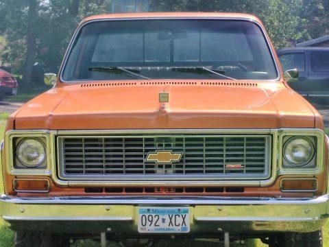 Low miles 1973 Chevrolet C/K Pickup 1500 Cheyenne Super vintage for sale