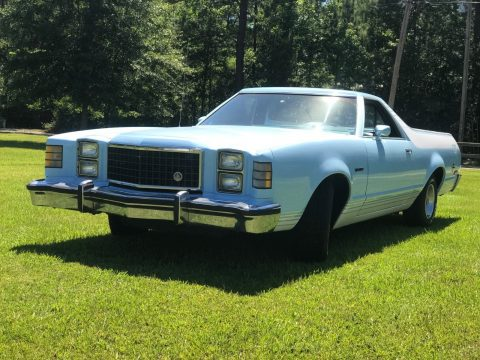 New paintjob 1977 Ford Ranchero GT vintage for sale