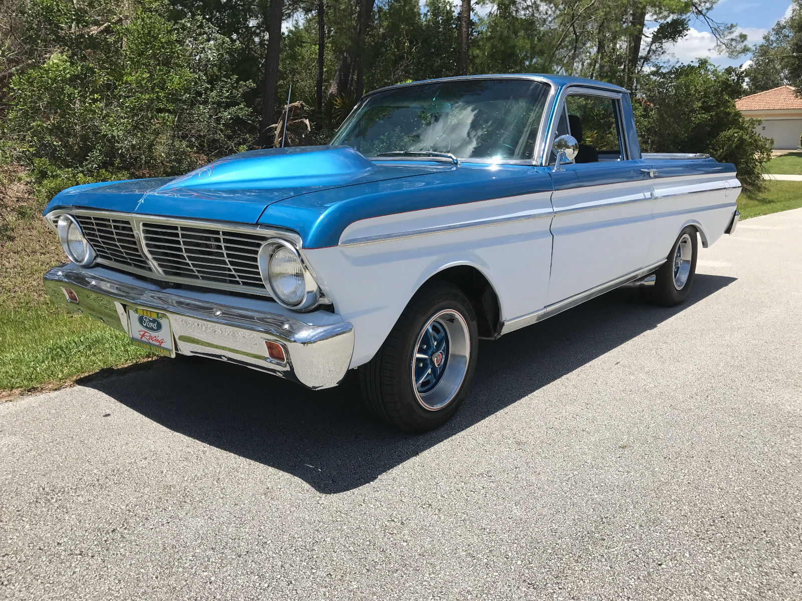Newer engine 1965 ford ranchero vintage for sale for Ford used motors for sale