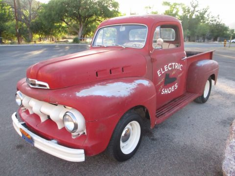 Nice patina 1951 Ford Pickups vintage for sale