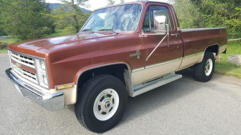 No rust 1986 Chevrolet C/K Pickup 2500 Silverado vintage for sale