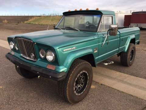 Repaired 1969 Jeep J2000 vintage for sale