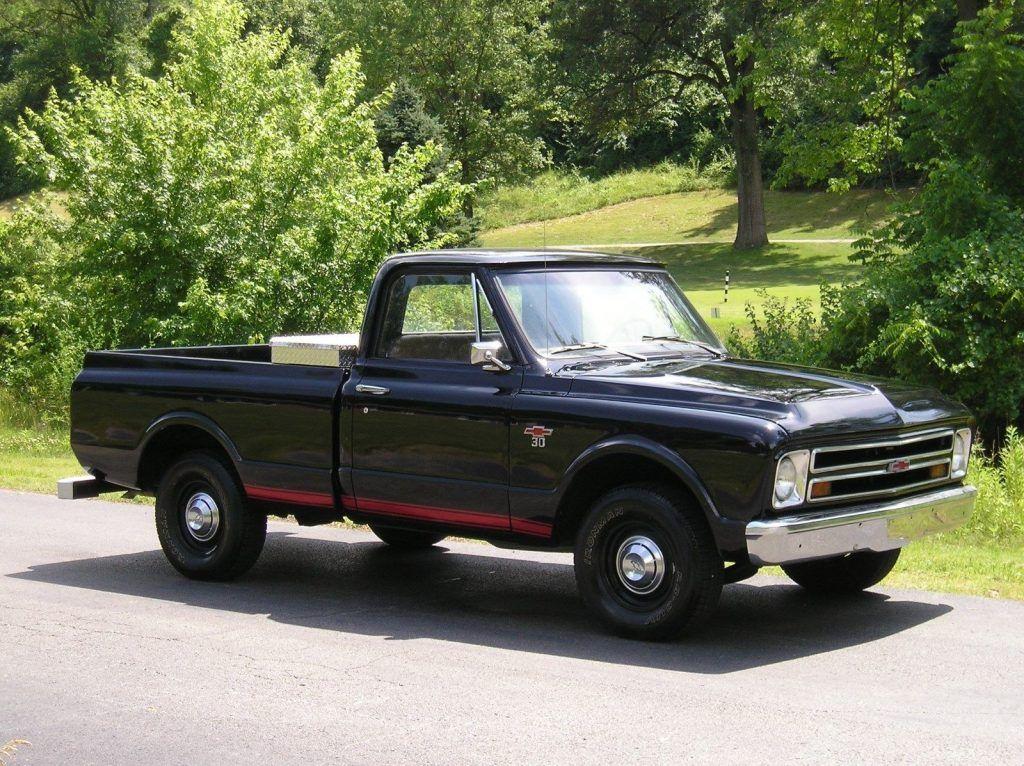 Restored 1967 Chevrolet C 10 C 30 vintage