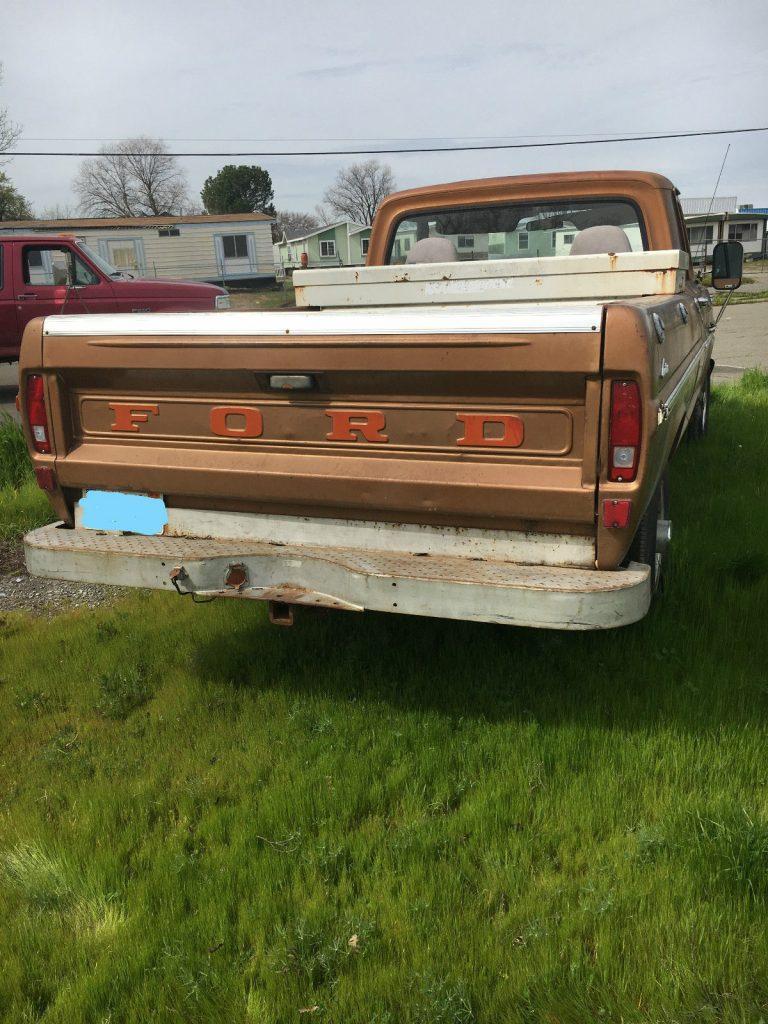 Rust free original 1972 Ford F 250 Base