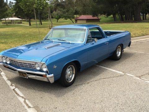 Always garaged 1967 Chevrolet El Camino vintage for sale