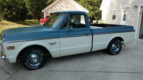 Big block 1969 Chevrolet C 10 vintage truck for sale
