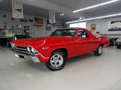 Frame off restored 1969 Chevrolet El Camino vintage for sale