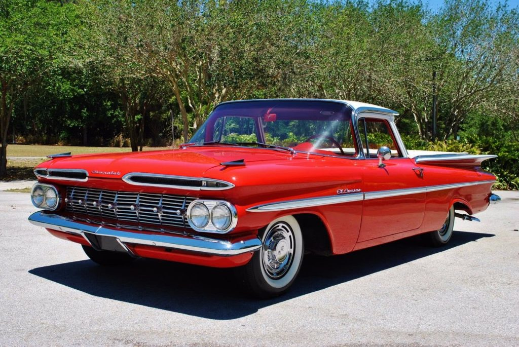 Fully restored 1959 Chevrolet El Camino vintage