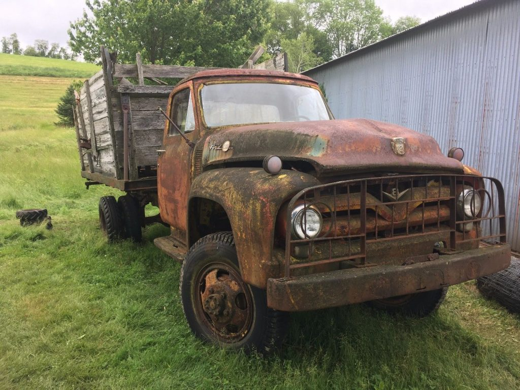 Rare 1954 Ford F 600 vintage truck for sale