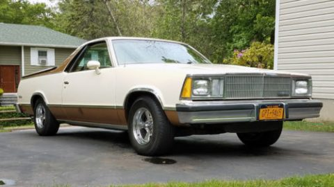 rust free 1980 Chevrolet El Camino vintage for sale