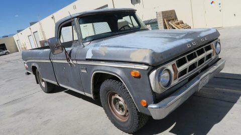 Camper Special 1969 Dodge Pickups D200 vintage for sale