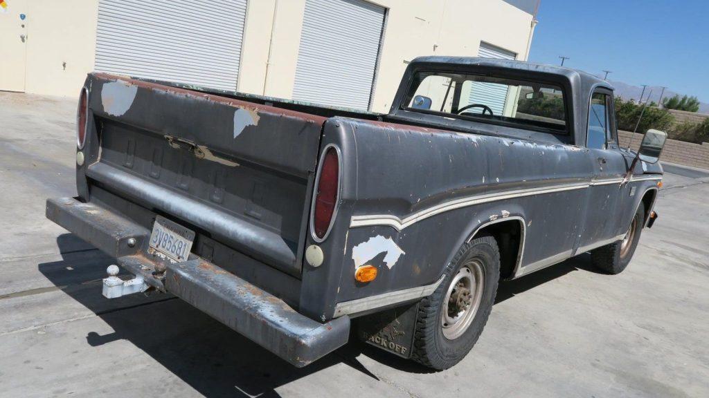 Camper Special 1969 Dodge Pickups D200 vintage