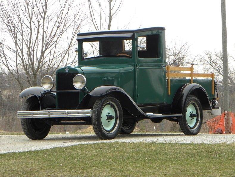 frame off 1930 Chevrolet Pickup Truck vintage