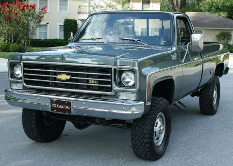 Immaculate 1975 Chevrolet C/K Pickup 2500 Pickup 4X4 lifted for sale