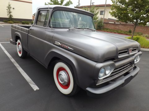 Laser straight 1960 Ford F 100 Short Wide Bed vintage for sale