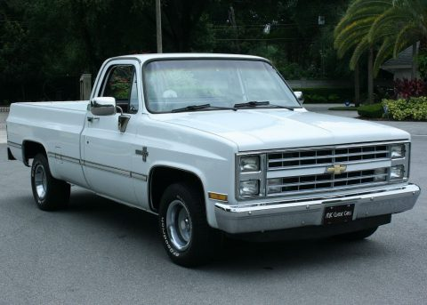 Low miles 1987 Chevrolet Silverado 1500 vintage for sale