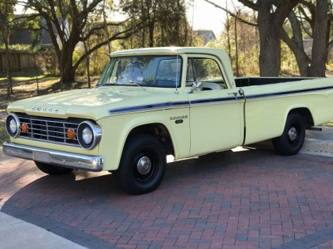 new paint 1967 Dodge Pickups vintage for sale