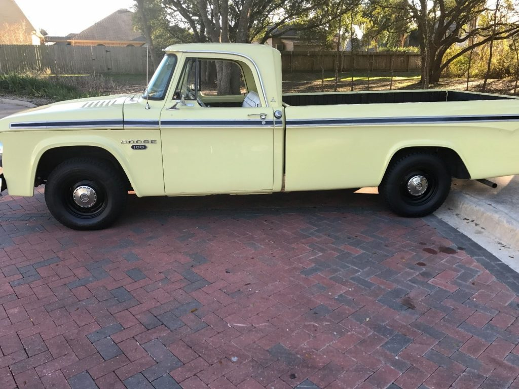 new paint 1967 Dodge Pickups vintage