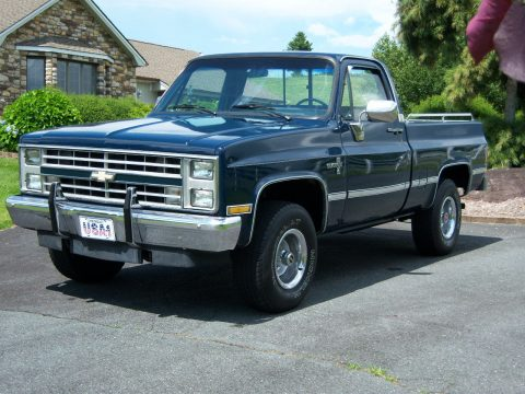 Newer paint 1987 Chevrolet C 10 Silverado vintage for sale