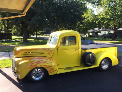nicely modified 1946 Ford F 100 custom truck for sale