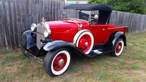 piece of history 1930 Ford Model A Pickup vintage for sale