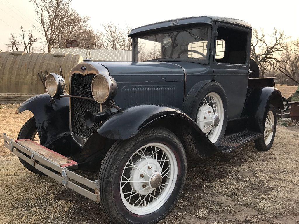 rebuilt engine 1930 ford model a vintage truck for sale
