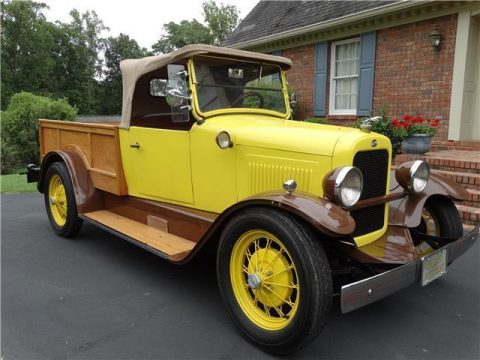 restored 1923 Willys Overland Roadster Pickup vintage for sale
