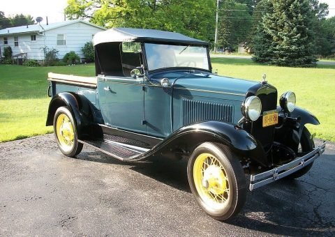 restored 1931 Ford Model A vintage for sale