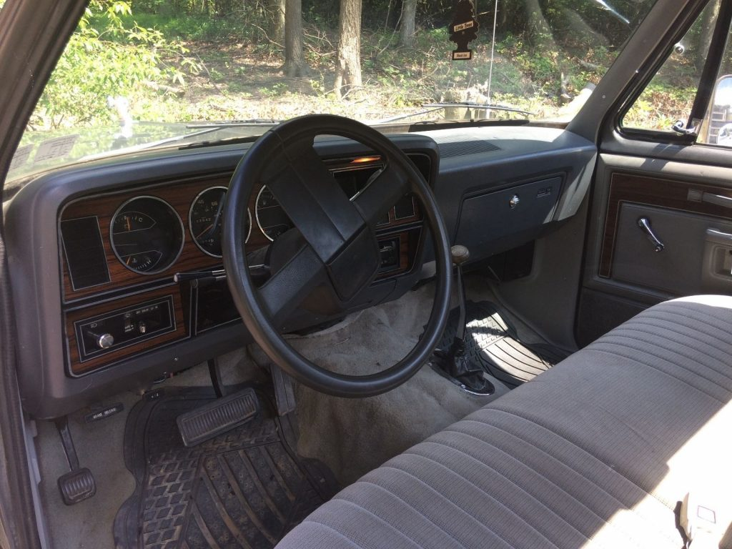 rust free 1985 Dodge Pickups lifted