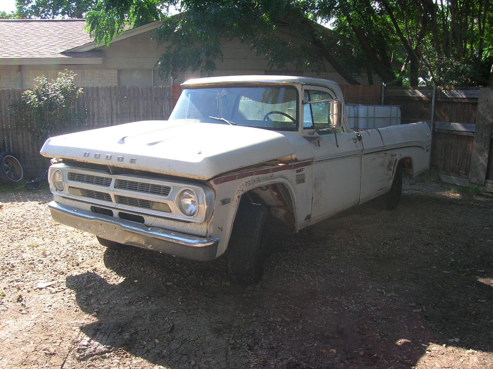 Swapped engine 1970 dodge pickups adventurer d100 vintage for Dodge motors for sale