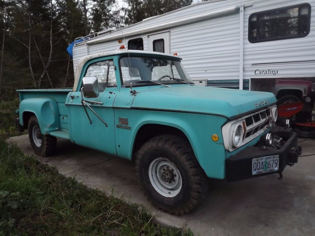 well maintained 1969 Dodge Power Wagon vintage