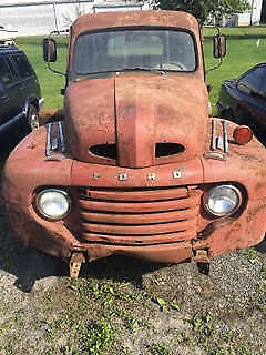 barn find 1948 Ford Pickups vintage for sale