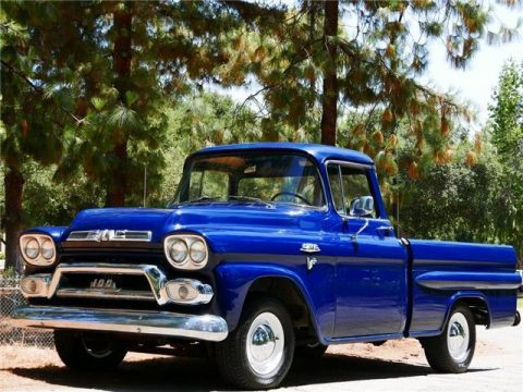 clean 1959 GMC 100 Deluxe vintage for sale