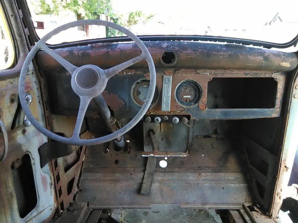 missing engine 1937 Dodge Pickups vintage truck