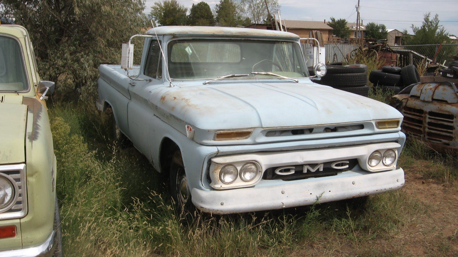 needs work 1964 chevrolet c 10 standard vintage pickup for sale. Black Bedroom Furniture Sets. Home Design Ideas