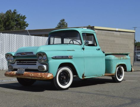 nice patina 1959 Chevrolet Pickups Apache vintage for sale