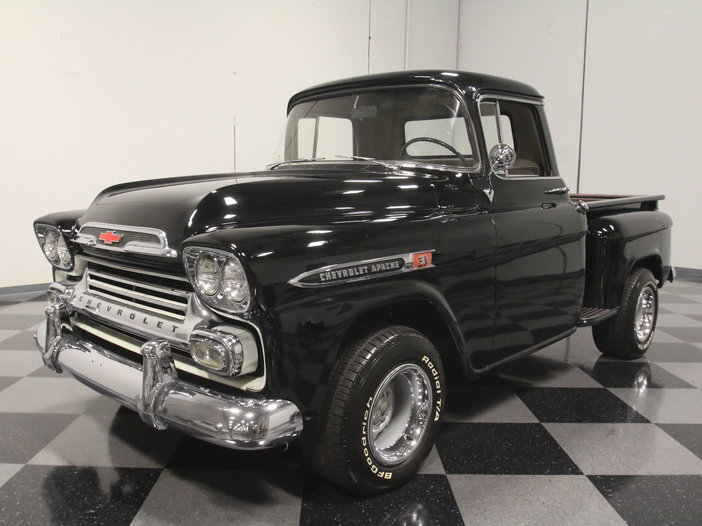 in addition Hot Wheels Boulevard Plymouth Belvedere further  further Chevy Truck Radio Replica Antique Auto Radio together with Chevrolet Impala For Sale. on 1958 chevy el camino