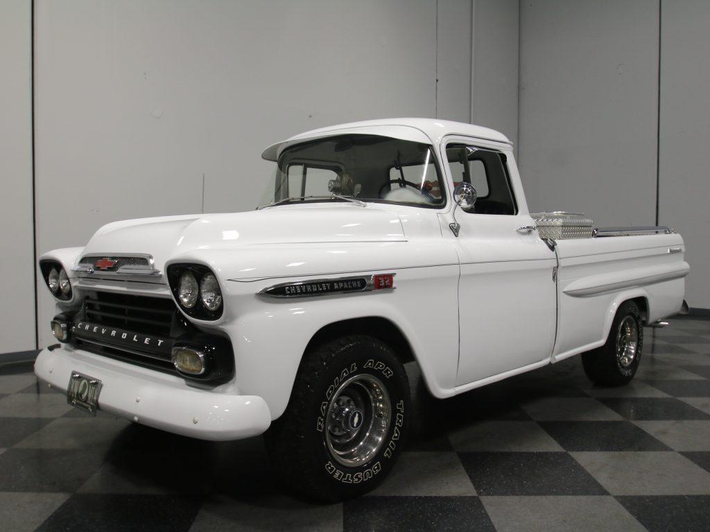 rare 1959 Chevrolet Apache vintage