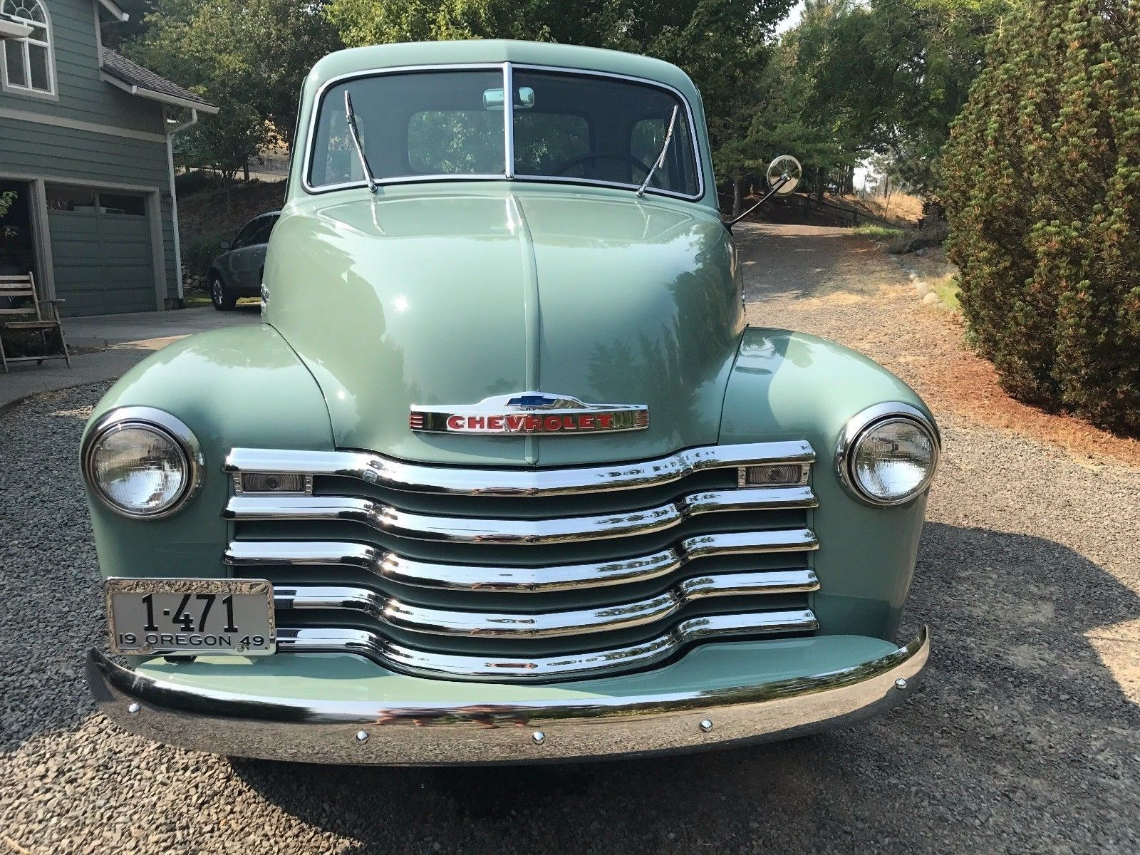 Rebuilt engine 1949 chevrolet pickups vintage for sale for Reconditioned motors for sale