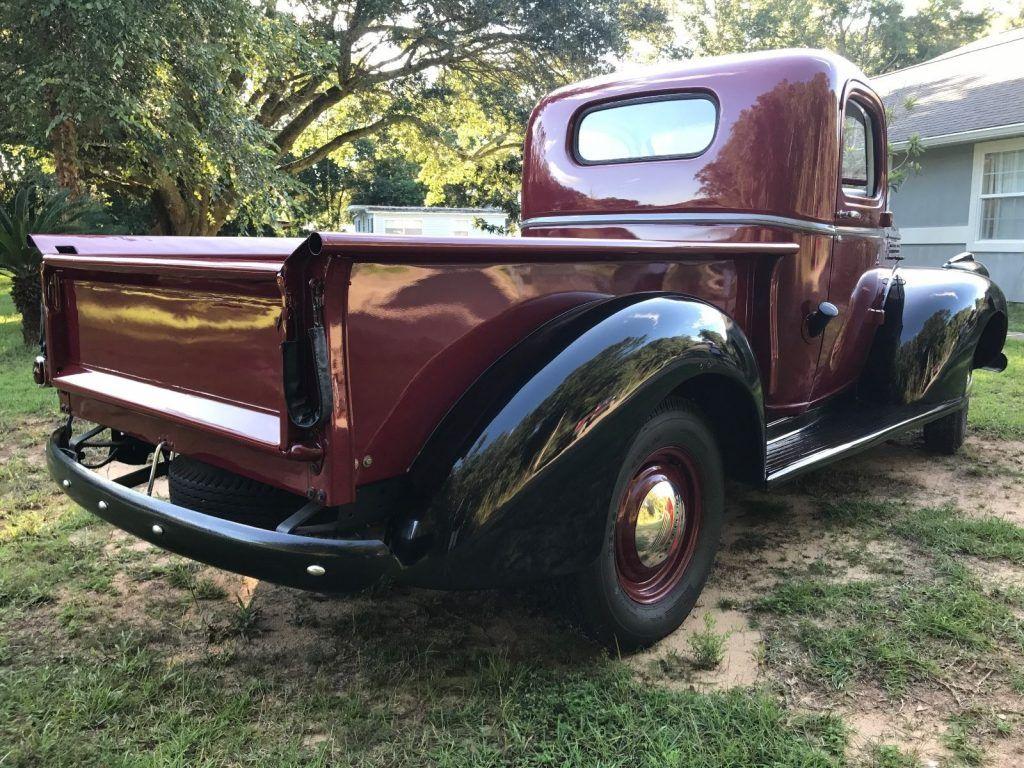 restored 1946 chevrolet pickup vintage for sale. Black Bedroom Furniture Sets. Home Design Ideas
