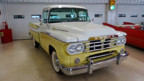 super clean 1959 Dodge Pickups vintage for sale
