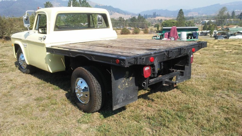 all original 1968 Dodge Pickups Stakeside Flatbed vintage