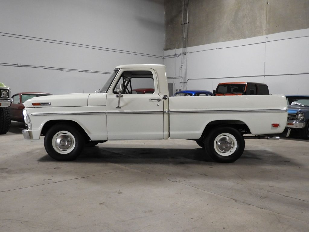 big block 1969 ford f 100 390 v8 vintage truck for sale. Black Bedroom Furniture Sets. Home Design Ideas