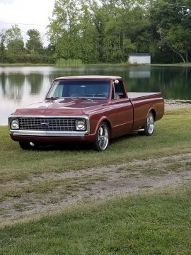 clean and sharp 1970 Chevrolet C 10 custom truck for sale