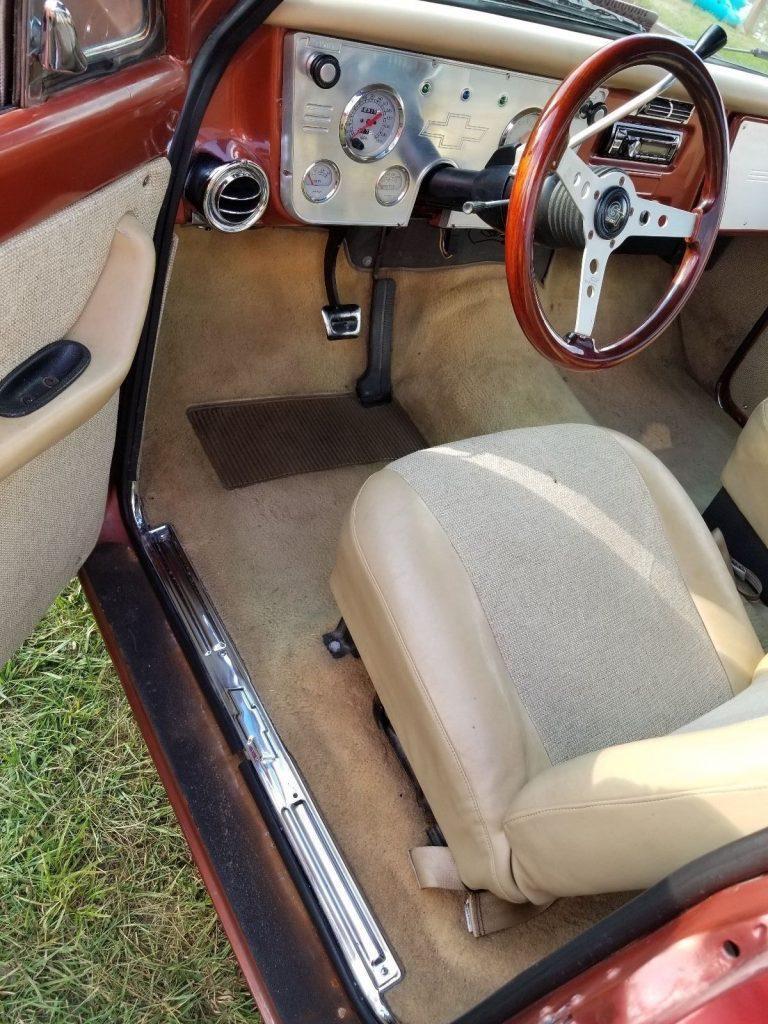clean and sharp 1970 Chevrolet C 10 custom truck